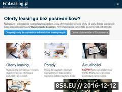 Miniaturka domeny www.fmleasing.pl