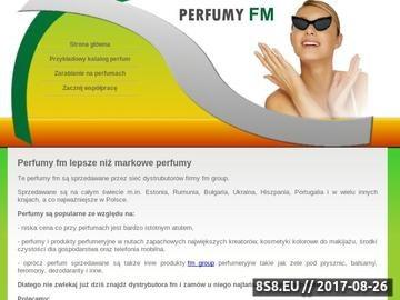 Zrzut strony Perfumy fm