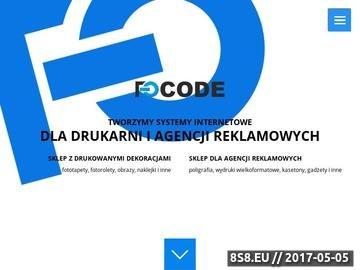 Zrzut strony Focode - strony WWW Gdańsk