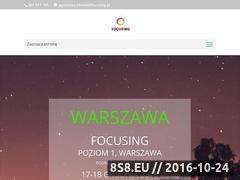 Miniaturka domeny www.focusing.pl