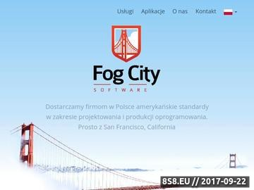 Zrzut strony Oprogramowanie dla firm