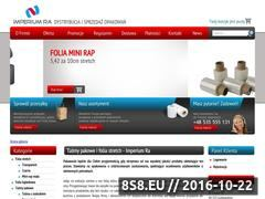 Miniaturka domeny www.folie-ra.pl