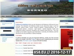Thumbnail of Borneo Folklores Website