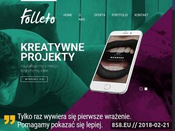 Zrzut strony Projektowanie logotypu