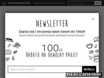 Zrzut strony Catering dietetyczny Gdynia Foody24