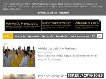 Zrzut strony Forum dla mieszkańców Fordonu