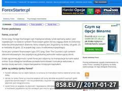 Miniaturka domeny forexstarter.pl