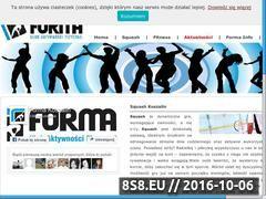 Miniaturka domeny www.formakoszalin.pl