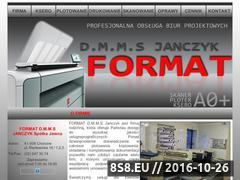 Miniaturka domeny www.formatksero.pl