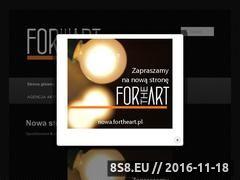 Miniaturka domeny fortheart.pl
