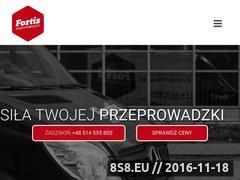 Miniaturka domeny fortis-przeprowadzki.pl