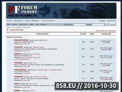 Miniaturka domeny www.forum-filmowe.pl