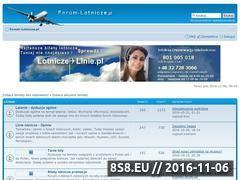 Miniaturka domeny www.forum-lotnicze.pl