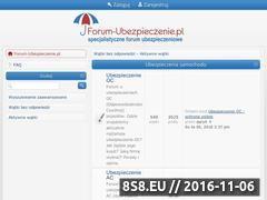 Miniaturka domeny www.forum-ubezpieczenie.pl