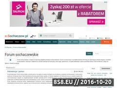 Miniaturka domeny forum.e-sochaczew.pl