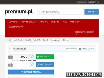 Zrzut strony Centrum downloadu i wiedzy - forum FileSpace