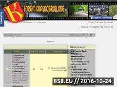 Miniaturka domeny forum.krasnobrod.org