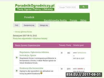 Zrzut strony Forum ogrodnicze