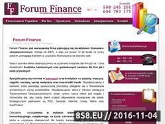 Miniaturka domeny forumfinance.pl