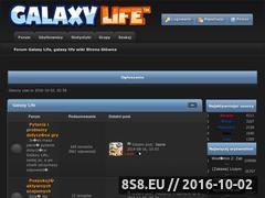Miniaturka domeny forumgalaxylife.pl