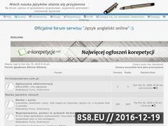 Miniaturka domeny www.forumjezykowe.com.pl