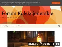 Miniaturka domeny www.forumkolekcjonerskie.pl