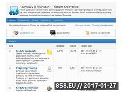 Miniaturka domeny www.forumkredytowe.info.pl