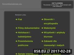 Miniaturka domeny forumkwiatowe.eu