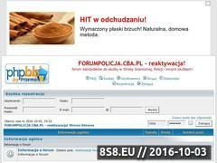 Miniaturka domeny forumpolicja.cba.pl