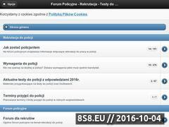 Miniaturka domeny www.forumpolicyjne.com.pl