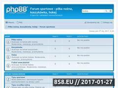 Miniaturka domeny www.forumsportowe.com.pl