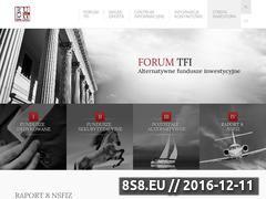 Miniaturka domeny www.forumtfi.pl