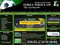 Miniaturka domeny www.forza.wroclaw.pl