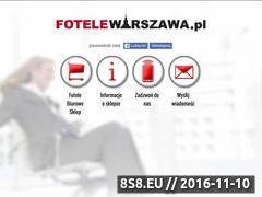 Miniaturka domeny fotelewarszawa.pl