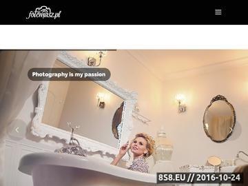 Zrzut strony Fotografia ślubna, portret, sesje zdjęciowe, fotografia rodzinn