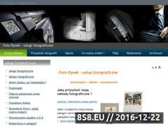 Miniaturka domeny www.foto-rynek.pl