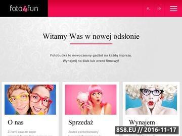 Zrzut strony Fotobudka - Foto4Fun