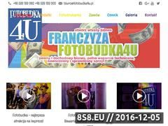 Miniaturka domeny www.fotobudka4u.pl