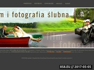 Zrzut strony Fotografia ślubna - artystyczne fotoreportaże, plenery ślubne i filmowanie