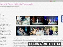 Miniaturka domeny fotografiaslubna.weselnie.pl