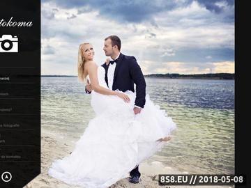 Zrzut strony Fotokoma.com.pl - fotografia ślubna śląsk