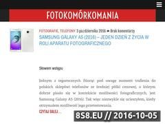 Miniaturka domeny fotokomorkomania.pl