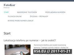 Miniaturka domeny www.fotokor.pl