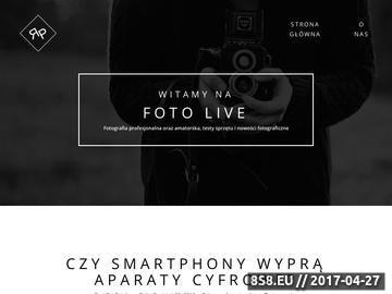 Zrzut strony Testy aparatów fotograficznych