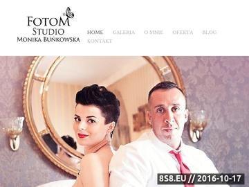 Zrzut strony Zdjęcia ślubne, fotografia