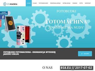 Zrzut strony Fotobudka - Fotomachina.pl