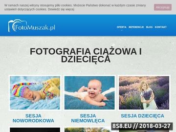 Zrzut strony FotoMuszak - sesja ciążowa