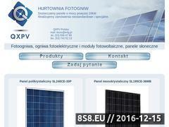 Miniaturka domeny www.fotoogniwa-hurt.pl