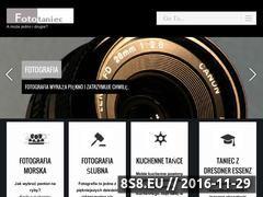 Miniaturka domeny www.fototaniec.pl