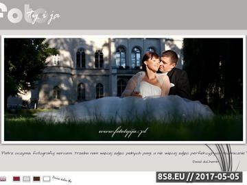 Zrzut strony Fototyija - fotografia ślubna i okolicznosciowa.